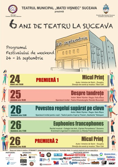 6 ani de teatru la Suceava