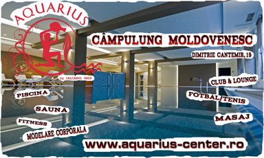 AQUARIUS CENTER Campulung Moldovenesc - Free time inside