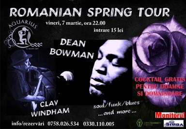 AQUARIUS CENTER Campulung Moldovenesc - Romanian Spring Tour - Dean Bowman - Clay Windham
