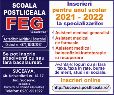Scoala Postliceala FEG