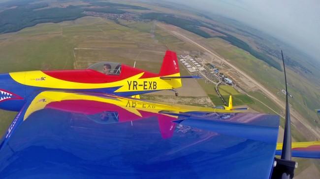 Hawks of Romania - George Rotaru - Extra EA-330SC