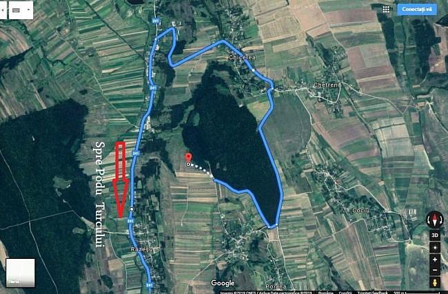 Harta Traseu Tabara Astronomie Barlad Motoseni Suceava News Online