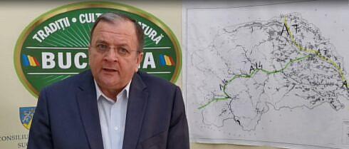 Flutur: O variantă optimă a autostrăzii A7 ar fi de la Dolhasca – Fălticeni, Suceava spre Siret. Se poate rezolva problema centurilor Fălticeni și Suceava