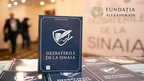 """Fundaţia Alexandrion organizează online a patra ediţie a """"Dezbaterilor de la Sinaia"""", pe 27-28 ianuarie 2021"""
