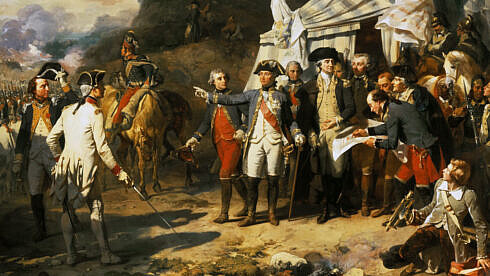 Revoluția americană se încheie cu o victorie la Yorktown (1781)