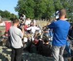 Păgânii au atacat Cetatea de Scaun a Sucevei